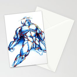 Omega Man Stationery Cards