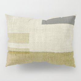 """Burlap Texture Natural Shades"" Pillow Sham"