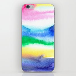 Abstract Summer Dreams iPhone Skin