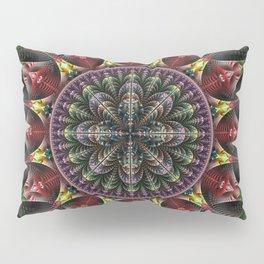 Super Star, fractal abstract Pillow Sham