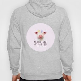Vegan Statement No I don't Have Any Spare Ribs Hoody