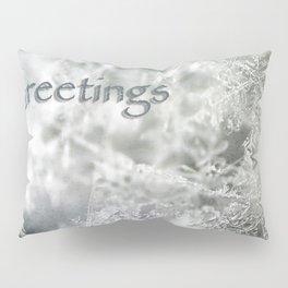 Seasons Greetings Pillow Sham