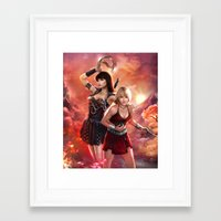xena Framed Art Prints featuring Xena Resurrection by K.Koji
