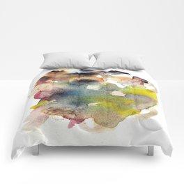 Watercolor multicolor 22 Comforters