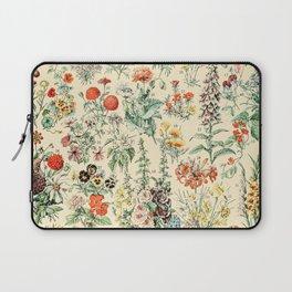 Wildflower Diagram // Fleurs II by Adolphe Millot XL 19th Century Science Textbook Artwork Laptop Sleeve