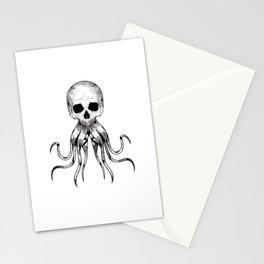 Skull Octopus Stationery Cards