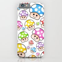 Iddy Diddy Mushrooms  Slim Case iPhone 6s