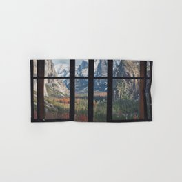Yosemite Window Hand & Bath Towel