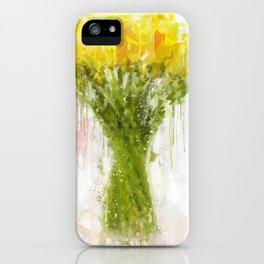 Dahlia Arrangement iPhone Case
