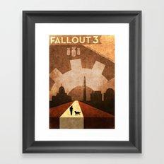 War Never Changes Framed Art Print