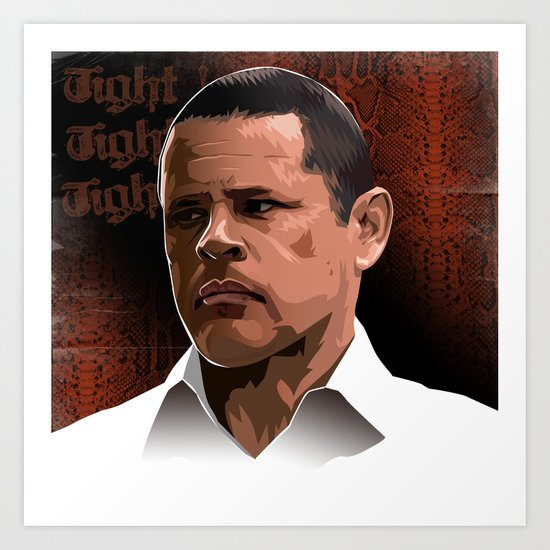 Breaking Bad Illustrated - Tuco Salamanca Art Print