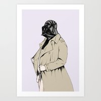 darth Art Prints featuring Darth by Annika Bäckström