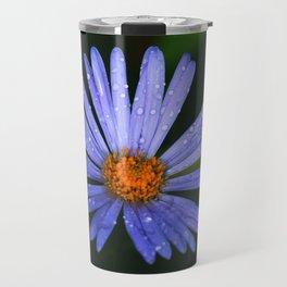 Blue Daisy Travel Mug