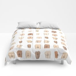 Butts Galore Comforters