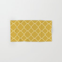 Yellow Moroccan Hand & Bath Towel