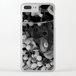 Nocopseudobacillum Clear iPhone Case