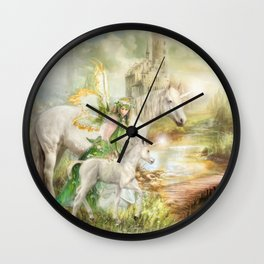 The Littlest Unicorn Wall Clock
