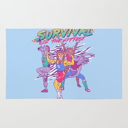 Survival of the Fittest Rug
