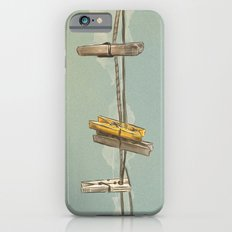 Vintage Clothespin iPhone 6s Slim Case