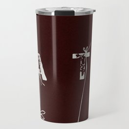 Brown Tea Time Travel Mug