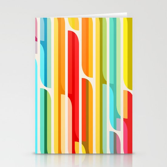 Test Tube Tune Stationery Cards