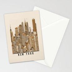 new york vintage (option) Stationery Cards