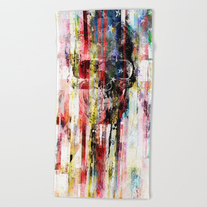 Lenny Hostile Beach Towel
