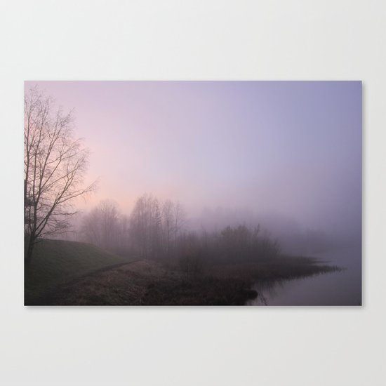 Land of Mist and Legend Canvas Print
