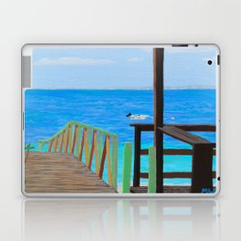 Lookout along Grand Case Beach Laptop & iPad Skin