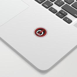 Infected Logo Sticker