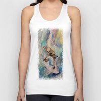 surfer Tank Tops featuring Surfer by Michael Creese
