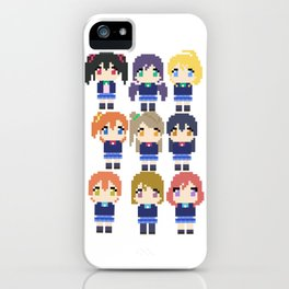 Pixel Muse iPhone Case