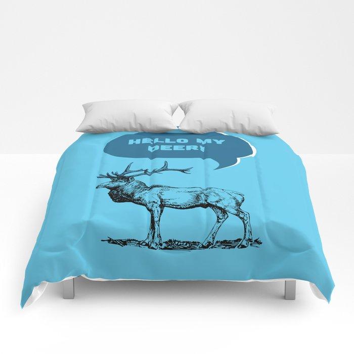 Hello My Deer! Comforters