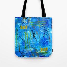 I got the blues Tote Bag