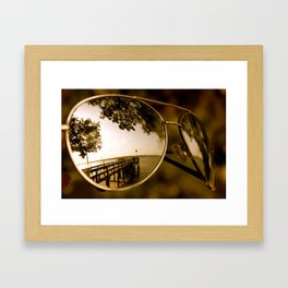 Not all of Us see the Same thing. Framed Art Print