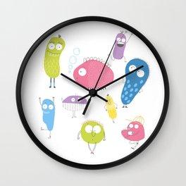 Bacteria's life Wall Clock