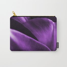 Ultraviolet Flower Petals #decor #society6 #homedecor Carry-All Pouch