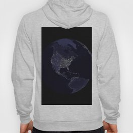 Earth Globe Lights Hoody