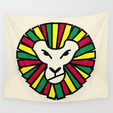 Lion Rastafari Wall Tapestry