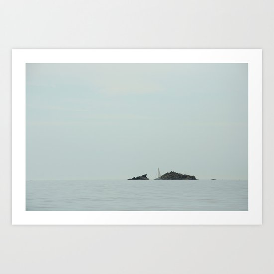 Dali's view Art Print