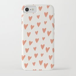 Hearts Hearts Hearts iPhone Case
