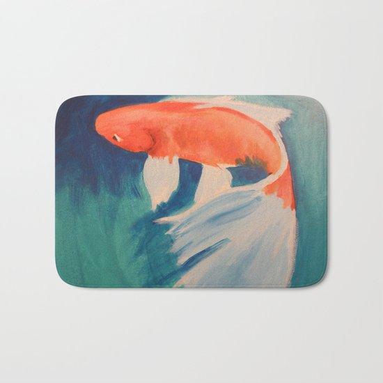 Acrylic Koi FIsh Bath Mat