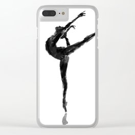Balanced Ballerina Clear iPhone Case