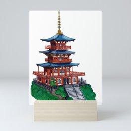 Seigantoji pagoda  Mini Art Print