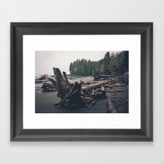 Drift Tree Framed Art Print