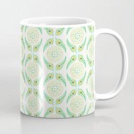 Peacock Mandala Coffee Mug