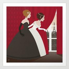 Prinzess Neugier Art Print