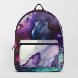 Expressive Flow 1 - Mixed Media Pain Backpack