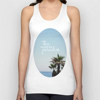 palms Tank Tops featuring Palms by HH.Prints