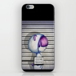 She's in jail... iPhone Skin
